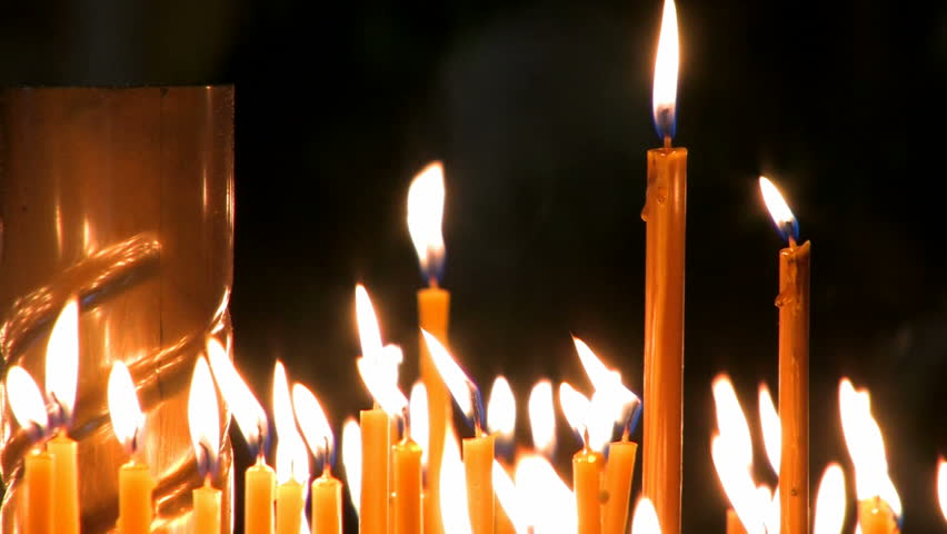 Candles in church. #1020472