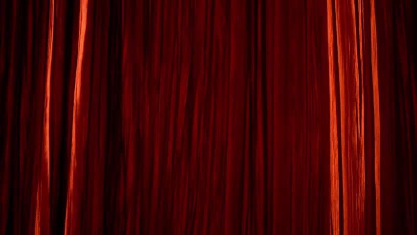 Red curtain move | Shutterstock HD Video #1020474112