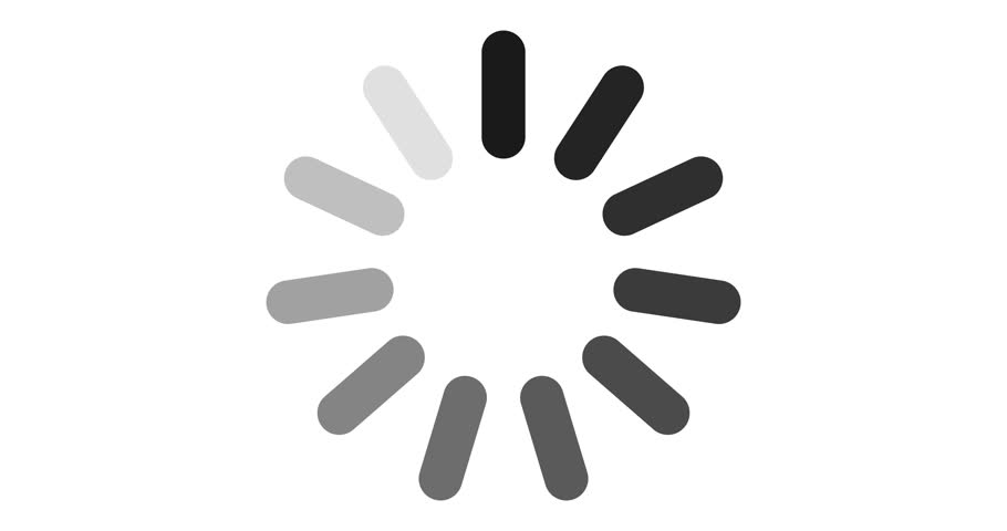 Loading circle icon on white background 4k | Shutterstock HD Video #1020515782