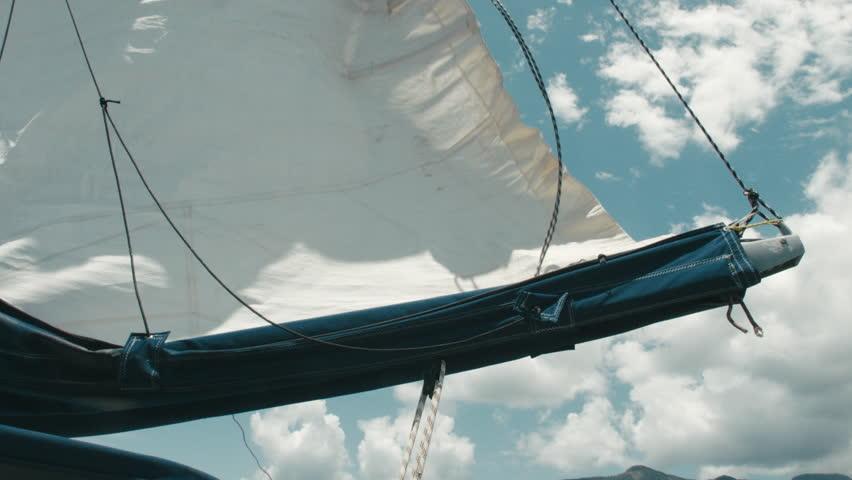 Header of mainsail