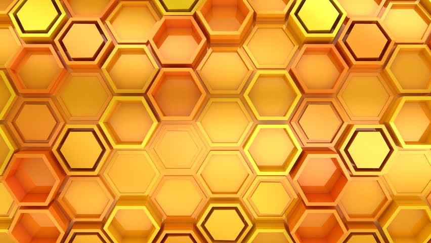 Background of Hexagons. Abstract background, 2 in 1, loop, created in 4K, 3d animation | Shutterstock HD Video #1020915712