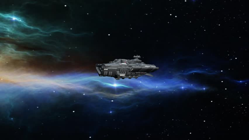 3D CG rendering of space ship | Shutterstock HD Video #1021014862