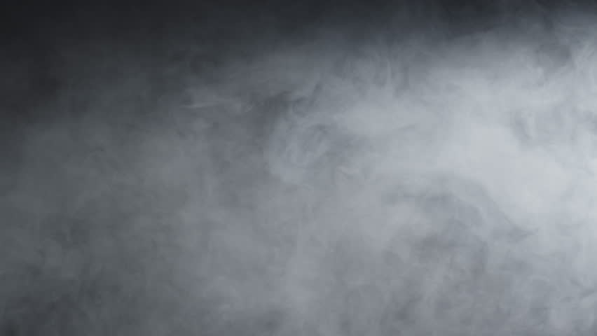 Slow motions smoke on a black background. Professional studio light and smoke machine. Good to use as a transition with a different types of blend mode opacity. | Shutterstock HD Video #1021998142