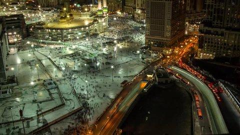 Timelapse Haram Mosque - Mecca