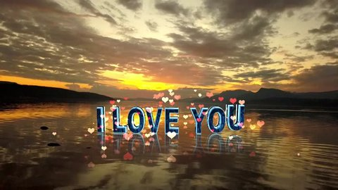 LOVE MESSAGES, LOVE YOU,I LOVE YOU TO THE MOON AND BACK ANIMATION,I LOVE YOU