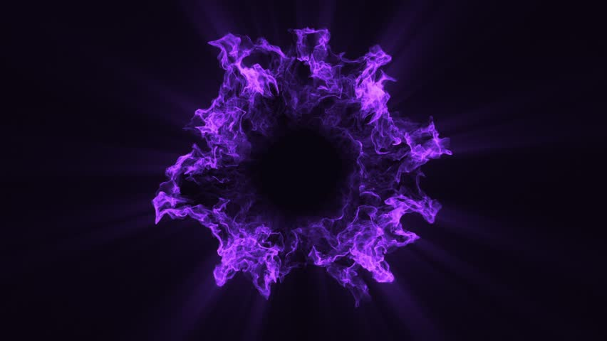10 Purple Particles Shockwaves Overlay Graphic Elements | Shutterstock HD Video #1022632672
