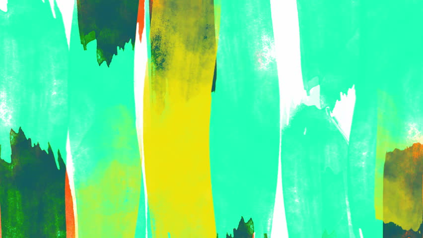 Animated abstract background with colorful vertical stripes with the shape of strokes. | Shutterstock HD Video #1022669872
