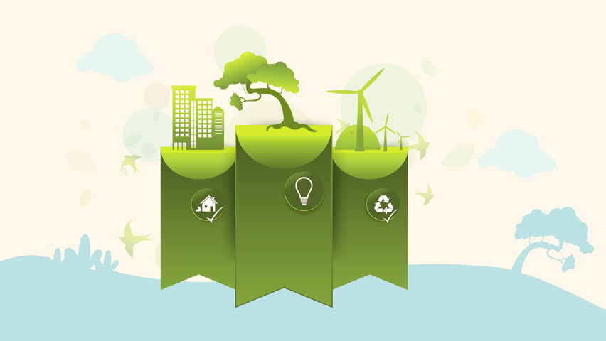 Save the World GreenTag Animation for Presentation Template. | Shutterstock HD Video #1022695912