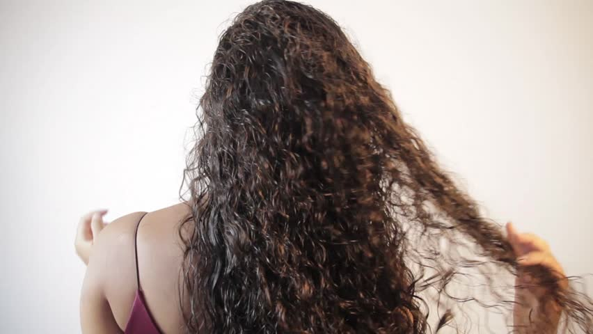 Back Of The Woman With Stock Footage Video 100 Royalty Free 1022717362 Shutterstock
