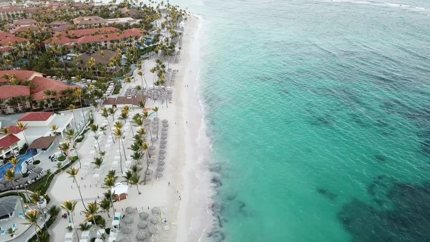 Caribbean Dominican Republic    Shutterstock HD Video #1023041932