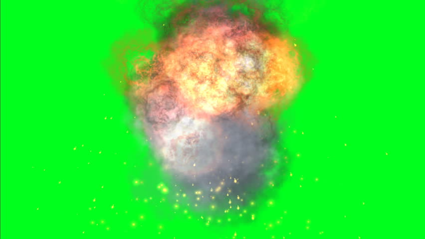 Fire ball on green screen | Shutterstock HD Video #1023260542