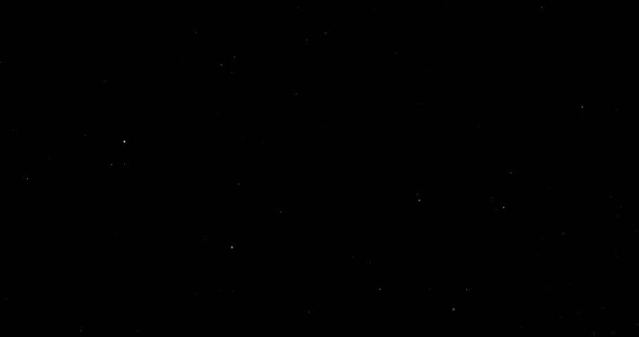 Snowfall on a black background | Shutterstock HD Video #1023352162