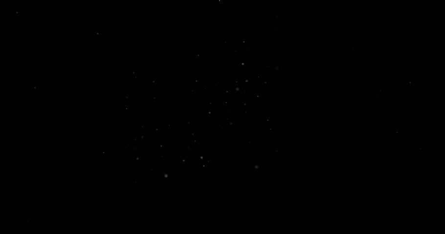Flying dust particles on a black background | Shutterstock HD Video #1023884122