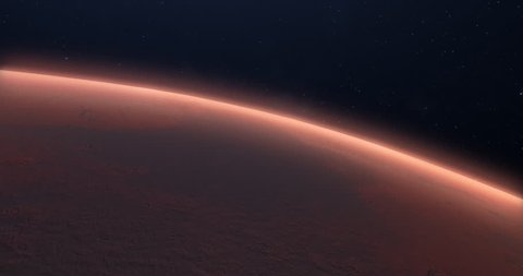 Exploring the red planet, Mars's surface in space. High Detailed, Realistic 3D rendered Animation. Resolution: 4K (4096x2160) Length: 0:20 Frame Rate: 29.97
