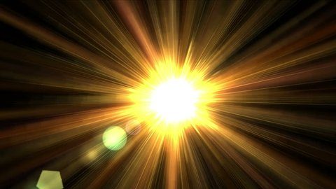 4k shine golden sunlight with ray laser fiber line,Abstract microwave halo pattern background,disco backdrop,fiber optical,neon lights science,future technology radiation energy scanning. 0906_4k