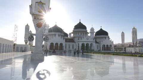 Baiturrahman Grand Mosque is a Mosque located in the center of Banda Aceh city, Aceh Province, Indonesia .The mosque is a landmark of Banda Aceh and has survived the 2004 Indian Ocean tsunami.