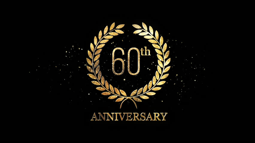 60th Anniversary Alpha Channel | Shutterstock HD Video #1025302052