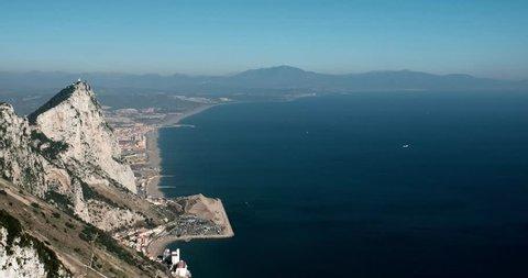 Gibraltar international airport landing