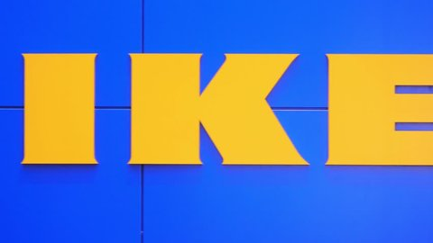 LUBECK, GERMANY- JANUARY 12, 2018 : IKEA, the furniture Store in Lubeck, Germany