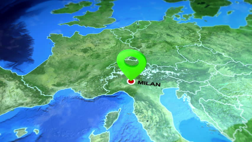 Milan (milano), Italy On the Stock Footage Video (100% Royalty-free)  1025668592 | Shutterstock