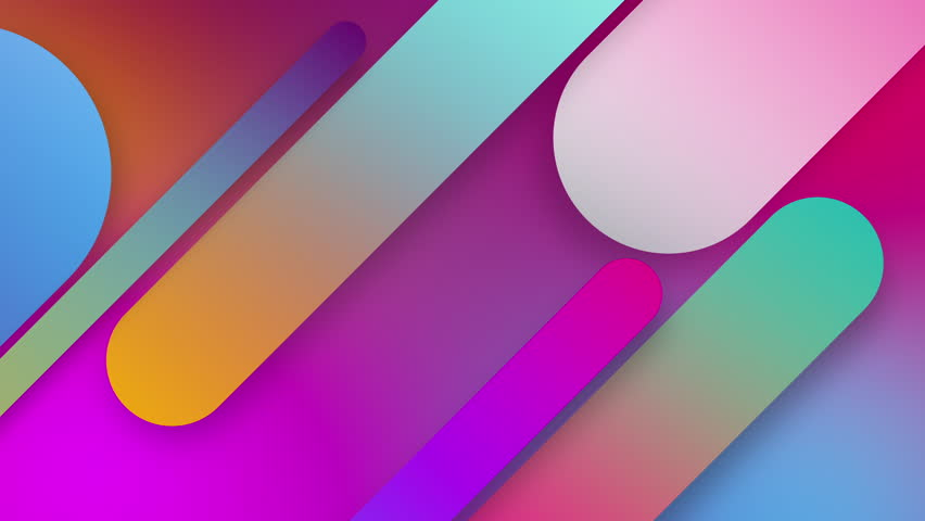 Background texture arts abstract seamless 4k background blue purple spectrum looped animation fluorescent ultraviolet light glowing neon lines Abstract background 4k neon box circle pattern LED screen