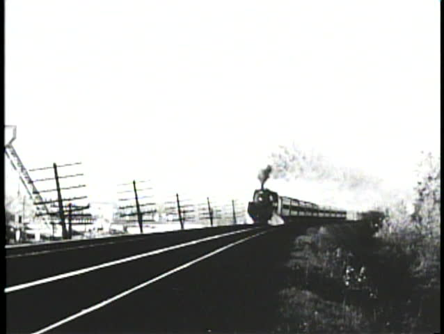 NEBRASKA PRAIRIES, 1905, Archival footage of steam locomotive passing in winter | Shutterstock HD Video #1026015632