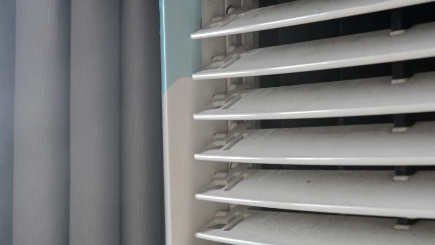 Working Air Cooler inside a flat (Close up shot) | Shutterstock HD Video #1026299702