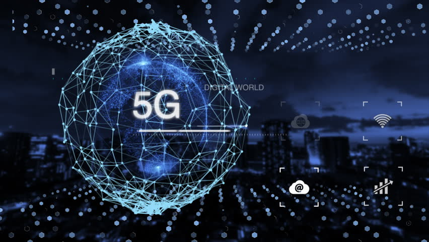 Digital earth, AI technology, 5G network, Fintech, IoT, and advanced technology. | Shutterstock HD Video #1026488702