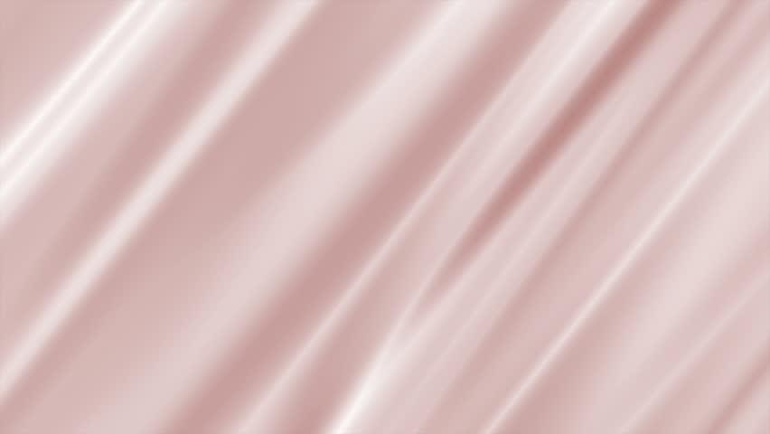 Wavy silk cloth background seamless loop | Shutterstock HD Video #1026532562