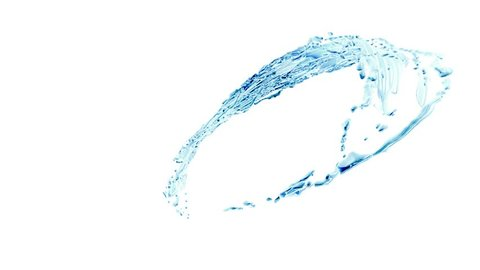 Water Pouring in bottle or glass, Water splash and Swirl in Tube or Glass. Cola, Tea, Juice, Oil  Liquid Surface Looping 3d Animation Slow Motion
