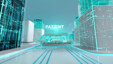 Phage Therapy with medical digital technology concept