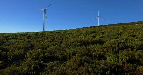 Wind Power Turbines in Portugal