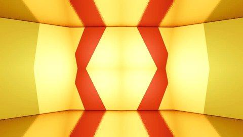 Led Colorful Fractal dance floor several shining Sound waves loop Dance lines light Rainbow spectrum color Disco dancing electronic music background Circle audio equalizer Floodligh bulb spectrum box