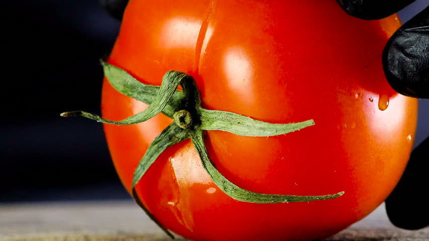 Tomato cutting closeup | Shutterstock HD Video #1027322462