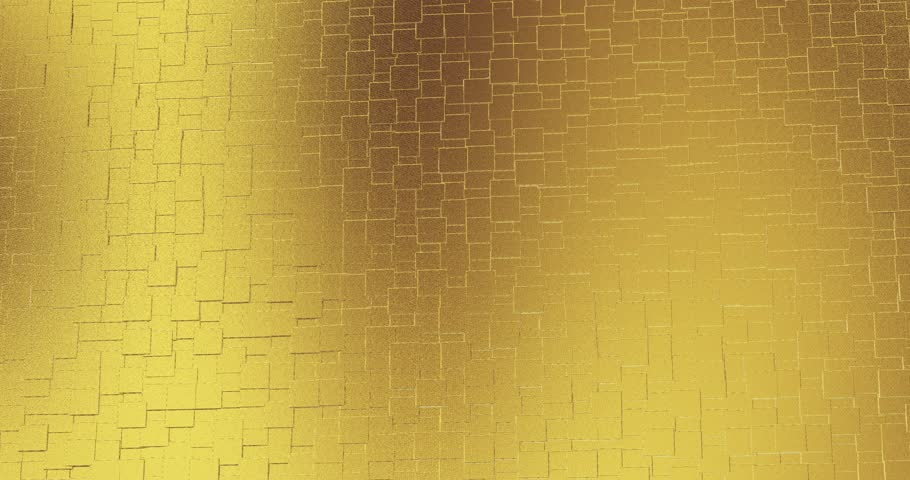 Abstract geometric golden backgroundfoil tiles texture seamless loop background | Shutterstock HD Video #1027684922