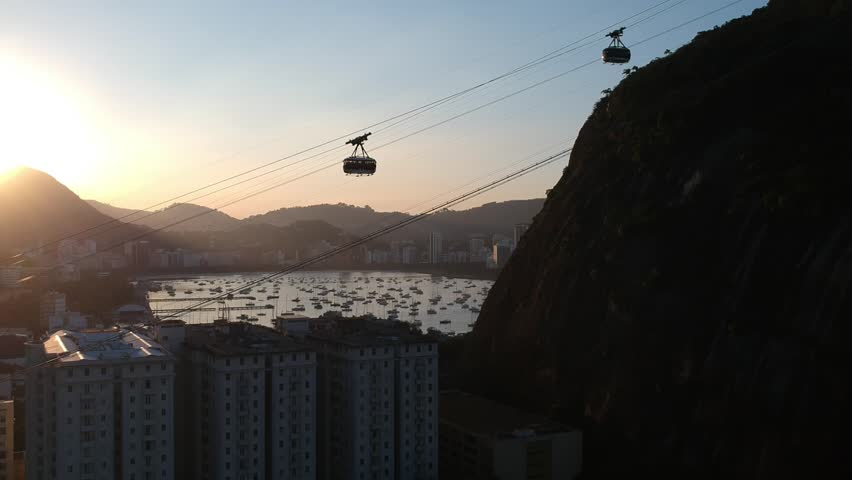 Sugar Loaf Brazil sunset   Shutterstock HD Video #1027900832