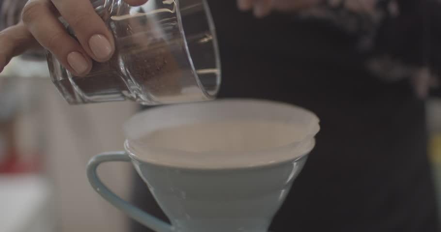 Alternative coffee making | Shutterstock HD Video #1027939022