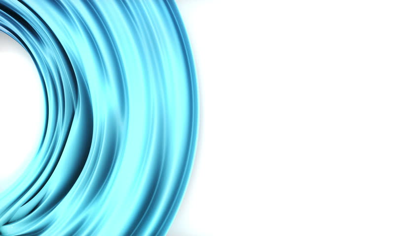 Abstract 3D line render object isoleted on white background. 4K seamless loop animation footage.  | Shutterstock HD Video #1028063672