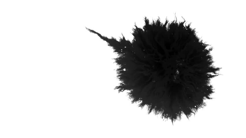Ink Runs, Blots, 4K footage. Ink in water, Beautiful black watercolor ink drops transition on white background - ink effect, transparent, transition, chamber, isolated, with circle organic flow expand   Shutterstock HD Video #1028445602