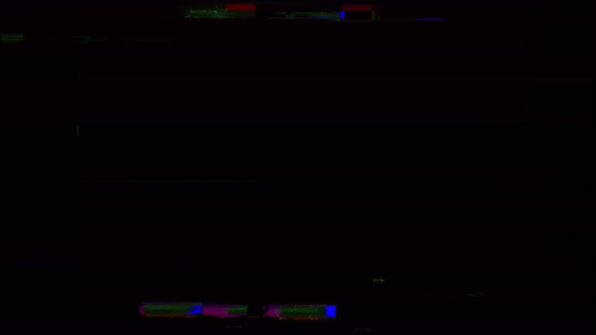 Glitch Computer Generated Animation Clip..You can Use For VFX Compositiong or Editing for Films.