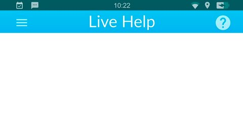 Live online help service.Messaging app animation with text bubbles simulating a real chat between users.