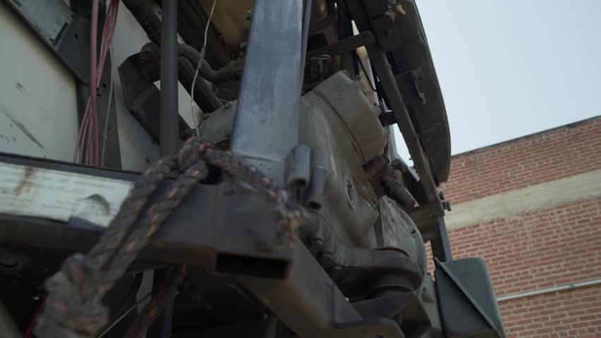 Truck Engine Load    Shutterstock HD Video #1028827682