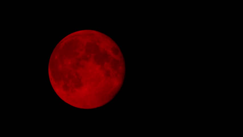red moon at night meaning - photo #45