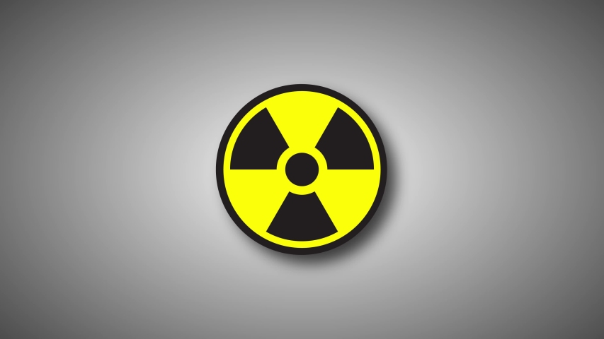 Animated radiation spinning around on a background    Shutterstock HD Video #1030215392