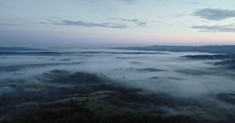 Drone footage of the beautiful landscape. | Shutterstock HD Video #1030240262