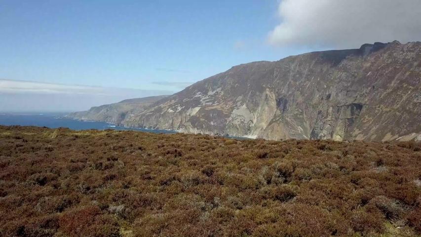 Slieve League in Donegal, Ireland Drone Video   Shutterstock HD Video #1030327532
