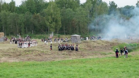 Battle Of Borodino Stock Video Footage - 4K and HD Video Clips