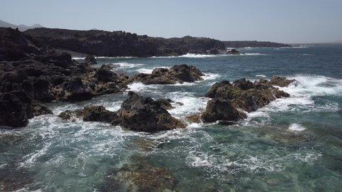 Lanzarote Coast Line El Golfo Surf