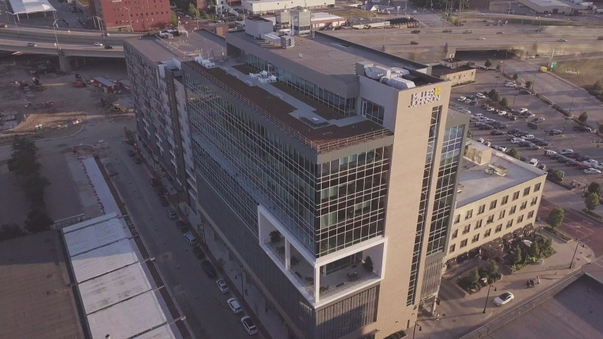 Grand Rapids, Michigan / United States - 11 26 2018: Miller Johnson offices in downtown Grand Rapids. | Shutterstock HD Video #1030844312