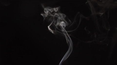 White Smoke On Black Background. Simply drop it in and change its blending mode to screen or add.